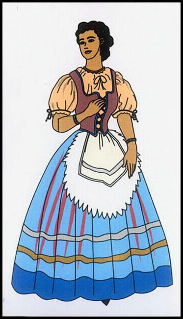 vestimenta de italia: