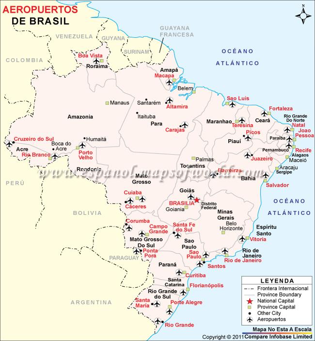 Aeropuertos De Italia Mapa.Mapa De Los Aeropuertos En Brasil Respuestas